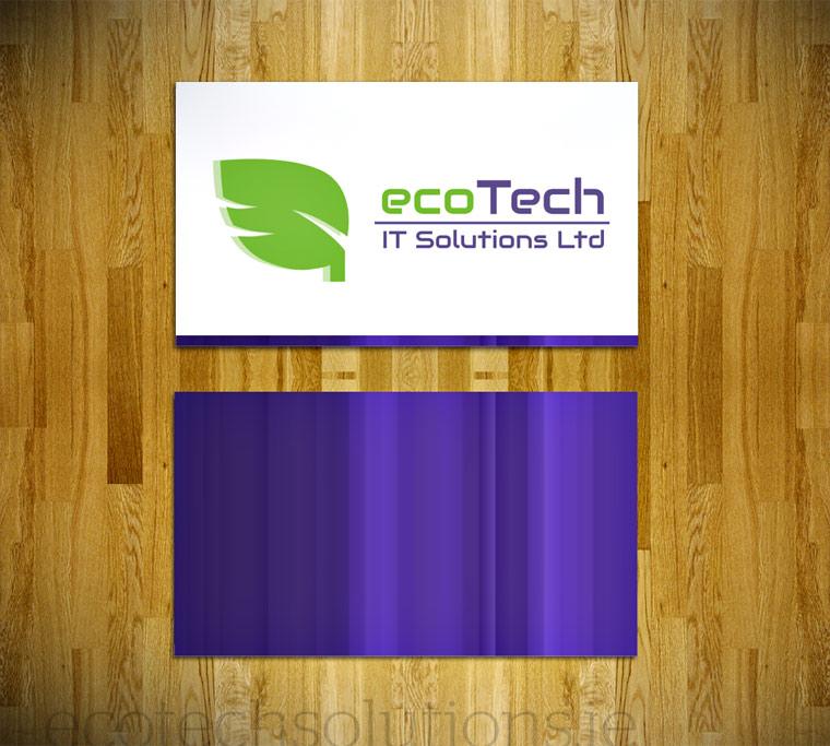 Eco Tech Logo Design