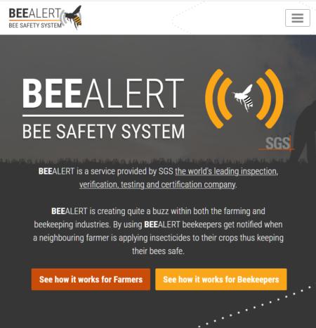 BeeAlert Eco Alert App (jQuey)